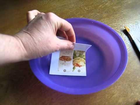 Декупаж - ФОТОбумага - распечатка на струйном принтере с водными чернилами - ТЕСТ