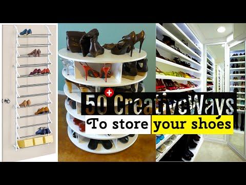 50+ Creative Shoe storage ideas thumbnail
