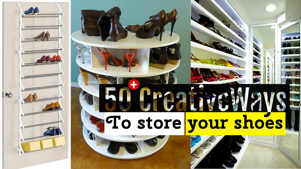 YouTube Premium 50 Creative Shoe storage ideas