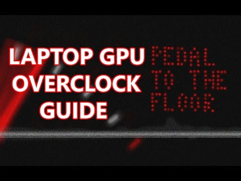 easy overclock laptop