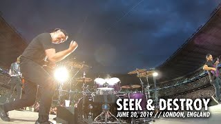 Metallica: Seek & Destroy (London, England - June 20, 2019)