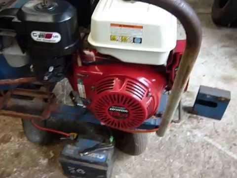Honda GX 390 Electric Start Engine
