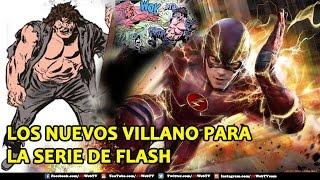 Los Nuevos Villanos Para Flash   Temporada 3