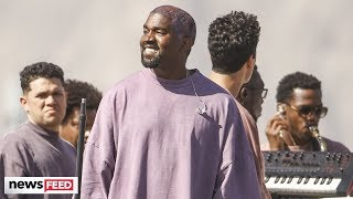 Kanye West BREAKS DOWN During Coachella Sunday Service