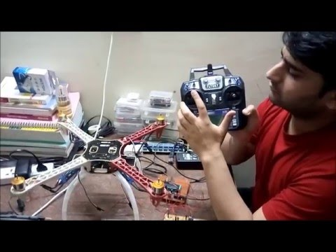 Drone - Part 2 (Programming ESCs & Throttle Setting)