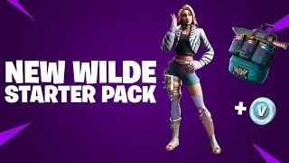 ACHAT DU PACK DE DÉMARRAGE WILDE 'NEW'! Fortnite Battle Royale #176
