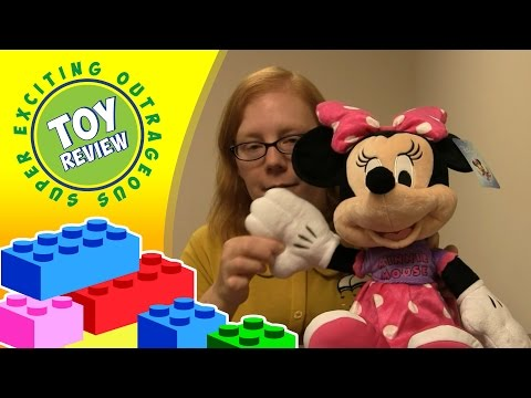 2015 Minnie Mouse plush from Toys R Us - Toy Review