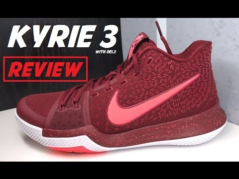 on sale f3333 0e609 Nike Kyrie 3  Warning  Hot Punch Sneaker Review
