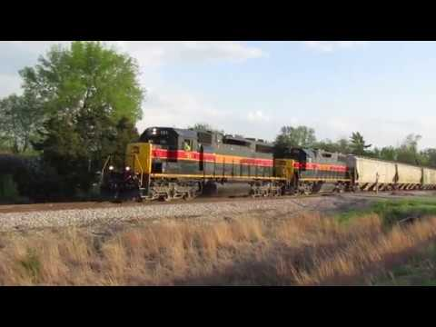 Iowa Interstate PESI at Mossville, IL - May 5, 2018