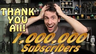 1 MILLION Subscribers! Thank You All!
