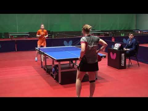 Видео: SHISHMAREVA - LIBATSKAYA #MOSCOW #Championships 2020 #RUSSIAN #tabletennis #настольныйтеннис