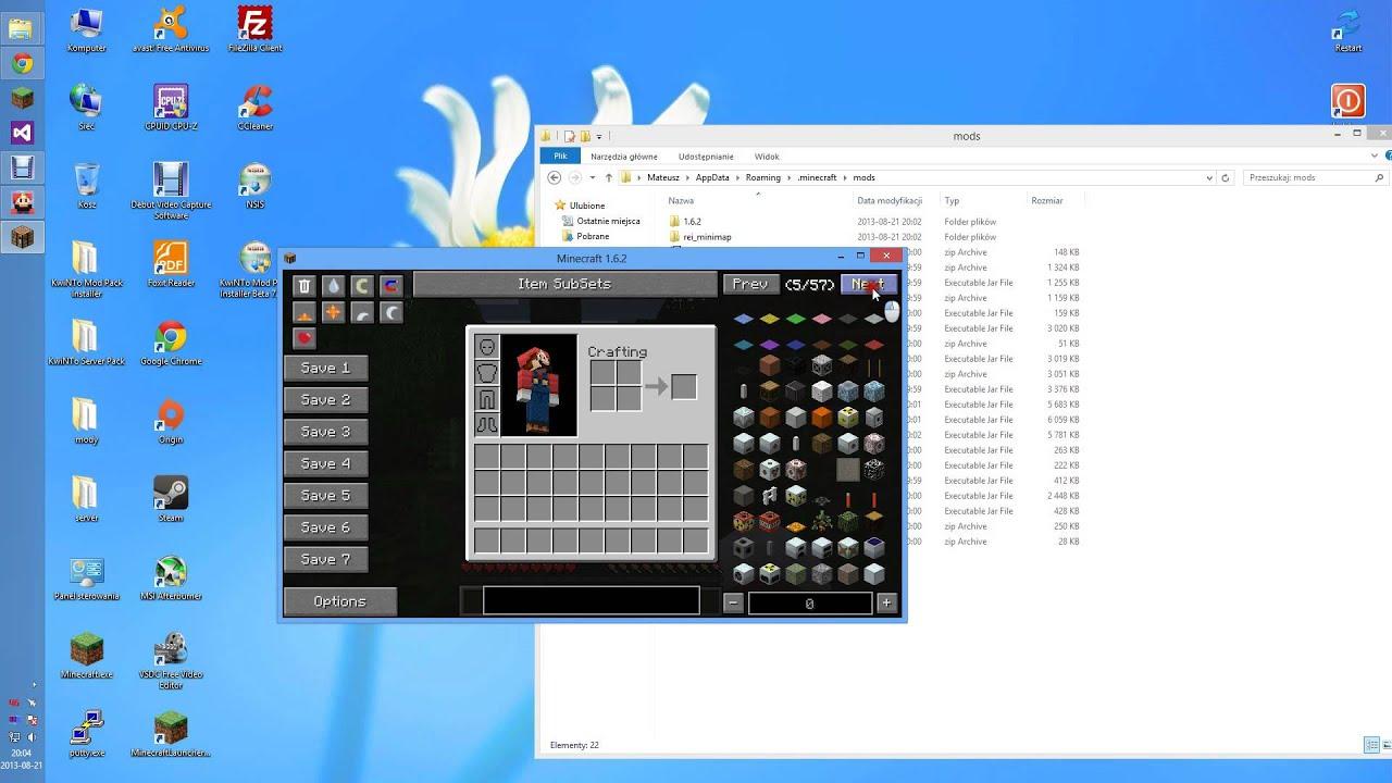 [Minecraft 1 6 2+] KwiNTo Mod Pack Installer: Forge, OptiFine i Manager  [PL] [EN at the description]