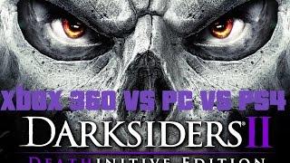 Darksiders 2 Which version Looks Best? Xbox 360/PC/PS4/PC DE