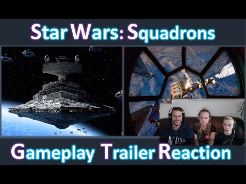 Star Wars: Squadrons | Gameplay Trailer | Reaction