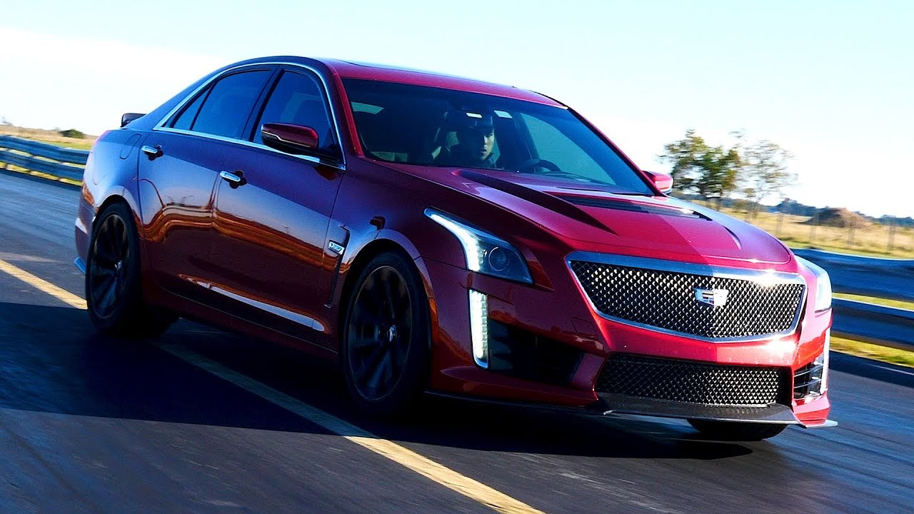 1000 HP Cadillac CTS-V In Action - YouTube