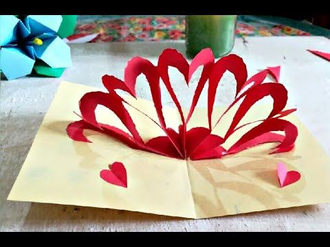 Handmade Love Card | Cute Love Gift Card  | Easy Paper Craft