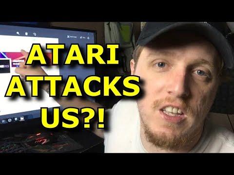 Atari Called Us Out?! WTF!! - Atari VCS Angry Rant
