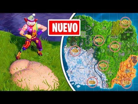 BUSCA NIDOS DE GANSO EN LA RIBERA [todas las ubicaciones] - 14 DÍAS FORTNITE EVENTO NAVIDAD