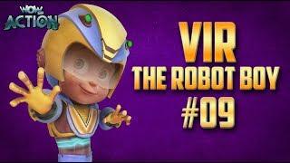 Vir: The Robot Boy   Hindi Cartoon Compilation For Kids   Compilation 09   WowKidz Action