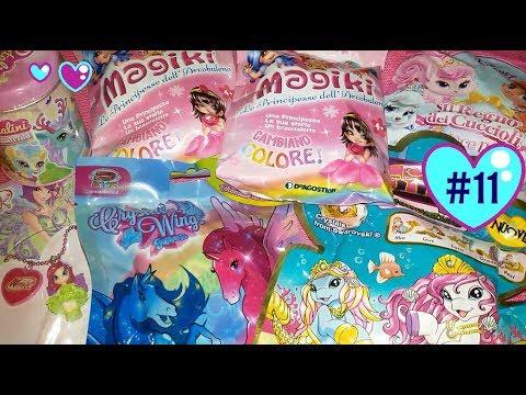 #11 BLIND BAG EDICOLA: Apriamo tante bustine: Principesse Arcobaleno, Crystal Wings, Winx...