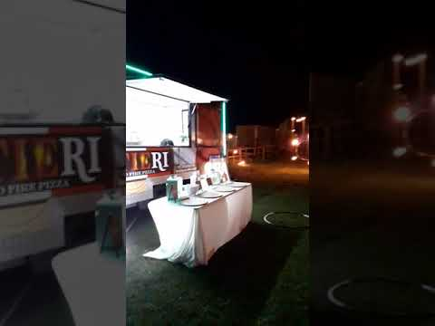 Pizza trailer wedding