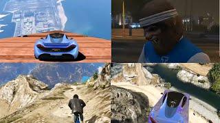 4 FARKLI HARİTA!! - GTA 5 Online Komik Anlar #75
