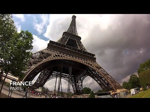 GoPro HERO4: A Ride in Paris -avenue montaigne to Eiffel tower.