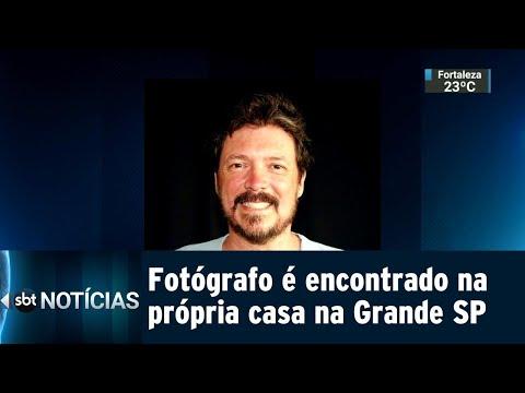 Fotógrafo é encontrado morto com golpes de faca dentro de casa | SBT Notícias (27/07/18)