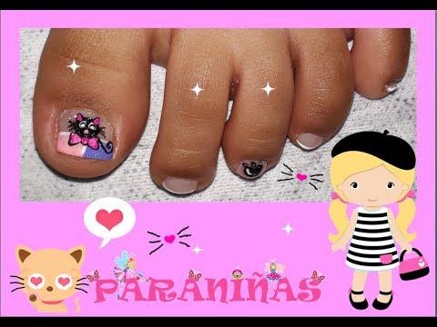 Decoración De Uñas Para Niñas Nail Decoration For Girls Youtube