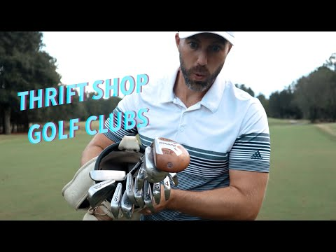 30yr Old Golf Clubs /// Can I Break Par?!