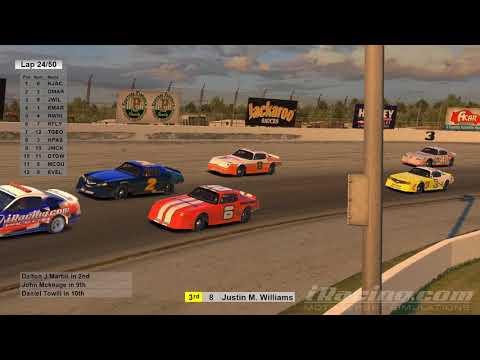 Iracing Street Stock Class C @ USA Raceway 2.27.18 with driver audio