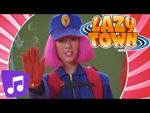 LazyTown | Ghost Stoppers Music Video