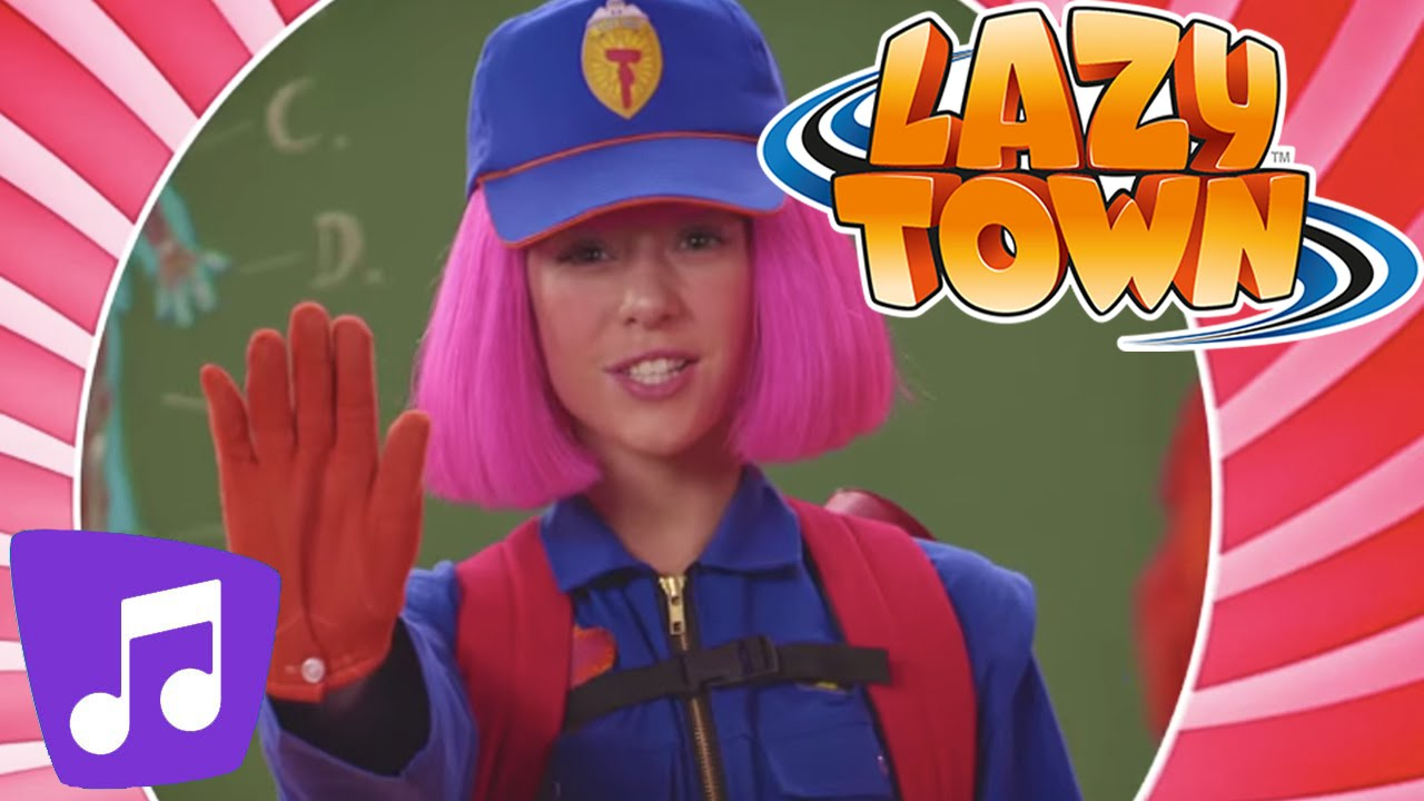 Download Lazy Town | Ghost Stoppers Music Video