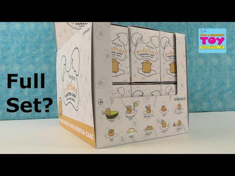 Kidrobot Gudetama Eggstra Lazy Vinyl Mini Figure Unboxing | PSToyReviews
