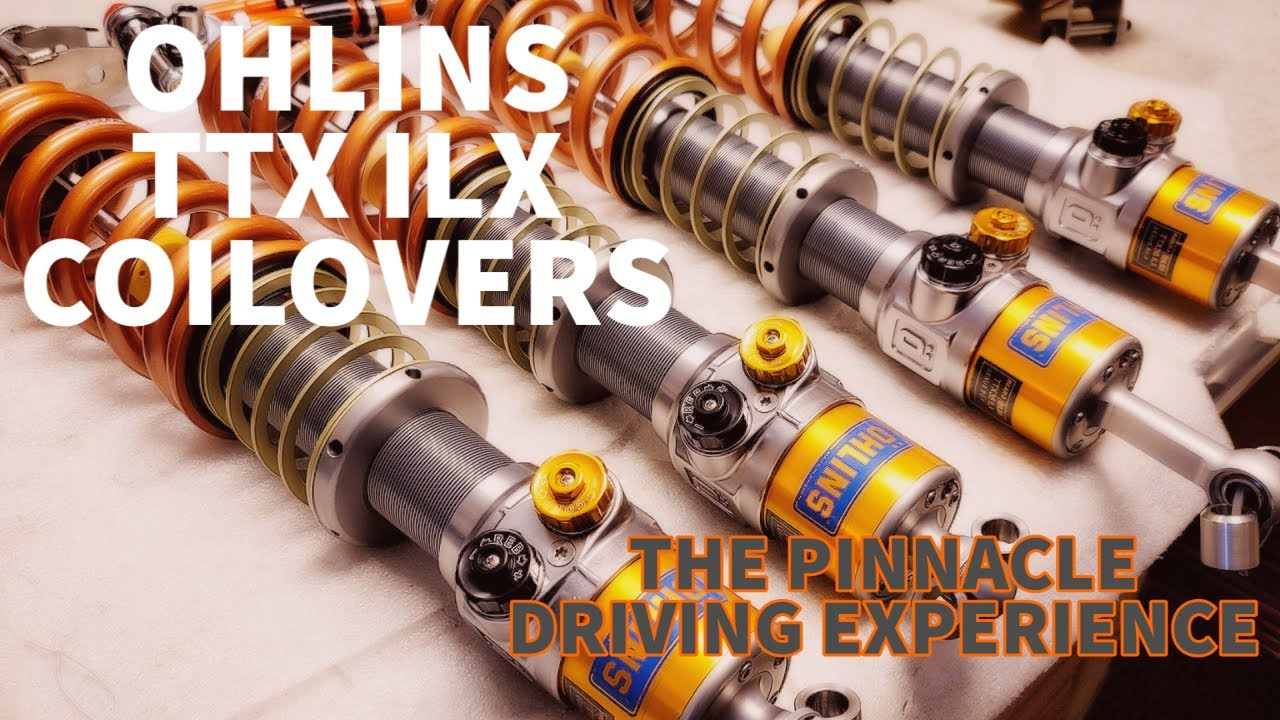 FIGS OHLINS TTX/ILS COILOVERS BUILD WRAP UP