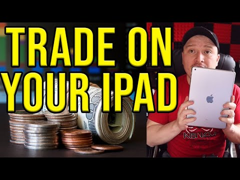 HOW TO TRADE BINARY OPTIONS ON YOUR PHONE iPAD OR TABLET