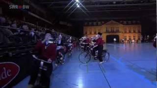 Musikparade Bicycle Showband Crescendo das Fahrradmusikkorps Niederlande