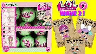 LOL Surprise Dolls SERIES 2 WAVE 2 FULL CASE The Hunt For Luxe, Sugar Queen, Pranksta