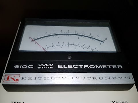 Keithley 610C Electrometer Repair