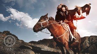 Mongolian Meditation Music relax mind body: shamanic music, tuvan throat singing, healing music 405M