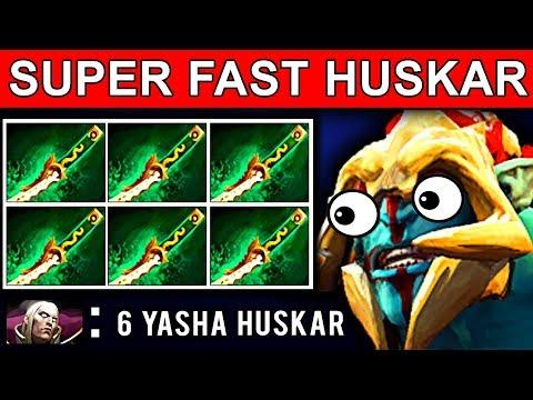 SUPER FAST 6 YASHA HUSKAR PATCH 7.09 DOTA 2 NEW META GAMEPLAY #34 (gattu HUSKAR) thumbnail