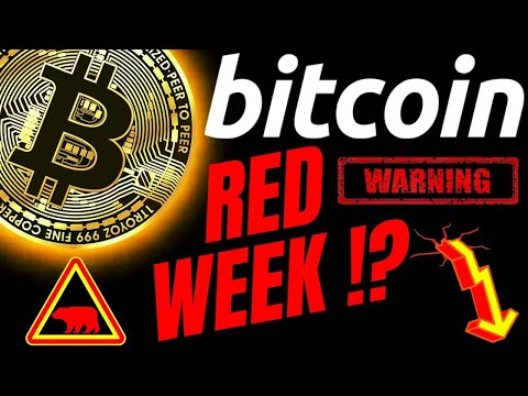 WARNING: RED WEEK AHEAD FOR BITCOIN LITECOIN And ETHEREUM!? Crypto Trading Ta News Analysis Charts
