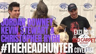 Writer, Director & 'The Head Hunter' Talk About The Film At #WonderCon Red Carpet