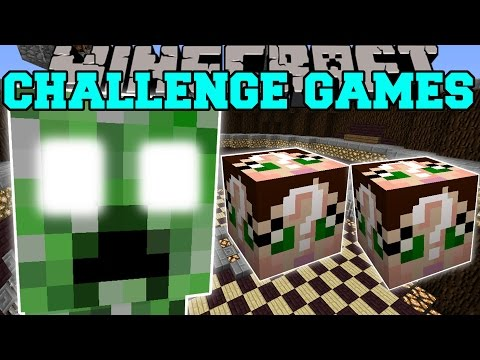Minecraft: CREEPER TITAN CHALLENGE GAMES - Lucky Block Mod - Modded Mini-Game