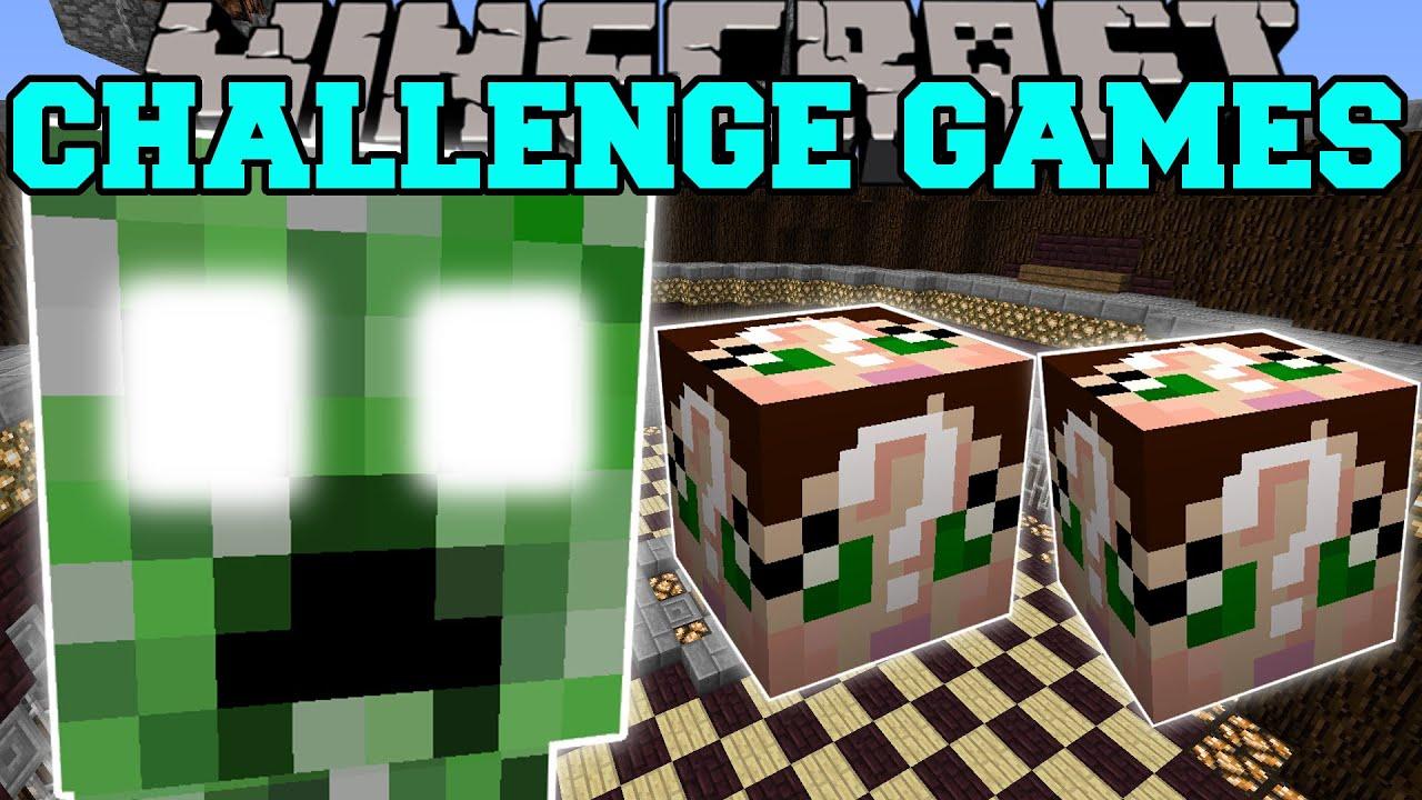 Download Minecraft: CREEPER TITAN CHALLENGE GAMES - Lucky Block Mod - Modded Mini-Game