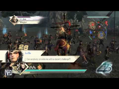 Let's Play Dynasty Warriors 6 Lu Bu(pt5) Battle of Mt. Ding Jun