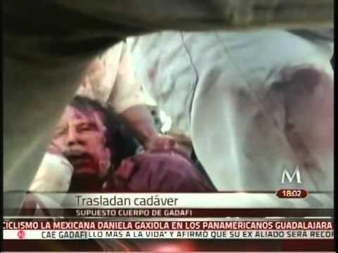 Así cayó Muamar el Gadafi