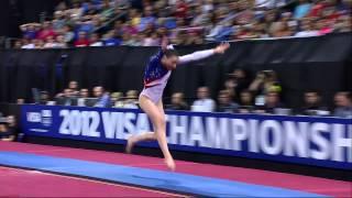 Kyla Ross - Vault - 2012 Visa Championships - Sr Women - Day 2