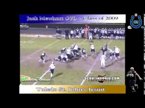2008 Jack Mewhort   Indianapolis Colts   Ohio State   OL