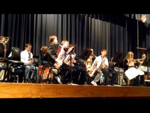 Cornerstone Middle School Christmas concert. Part
